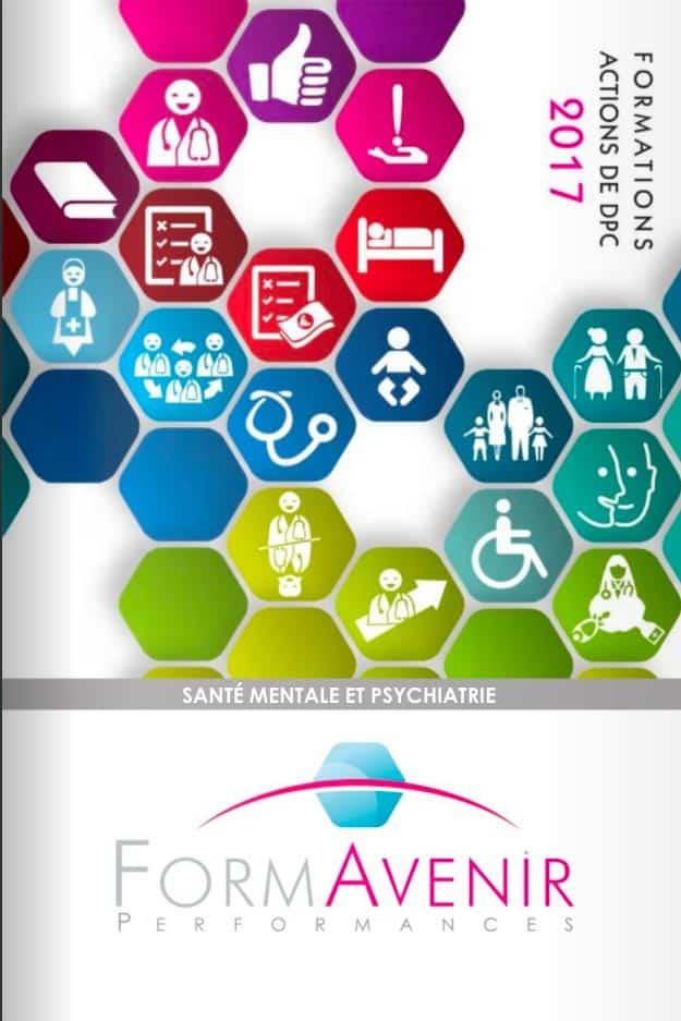 Catalogue Santé mentale 2017 – Formavenir Performances