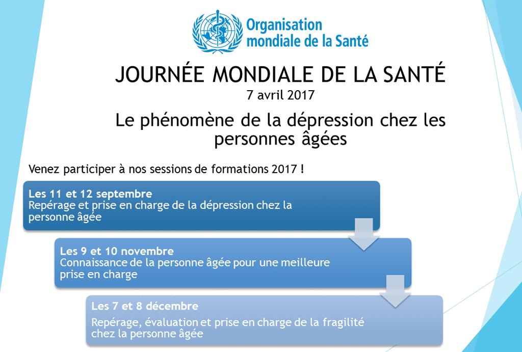 Programme d'actions OMS : Vers une meilleure prise en charge de la dépression chez les seniors
