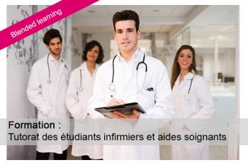 Zoom sur la formation tutorat des étudiants paramédicaux (blended)