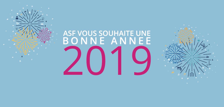 LE GROUPE AVENIR SANTÉ FORMATION VOUS SOUHAITE UNE BONNE ANNÉE 2019