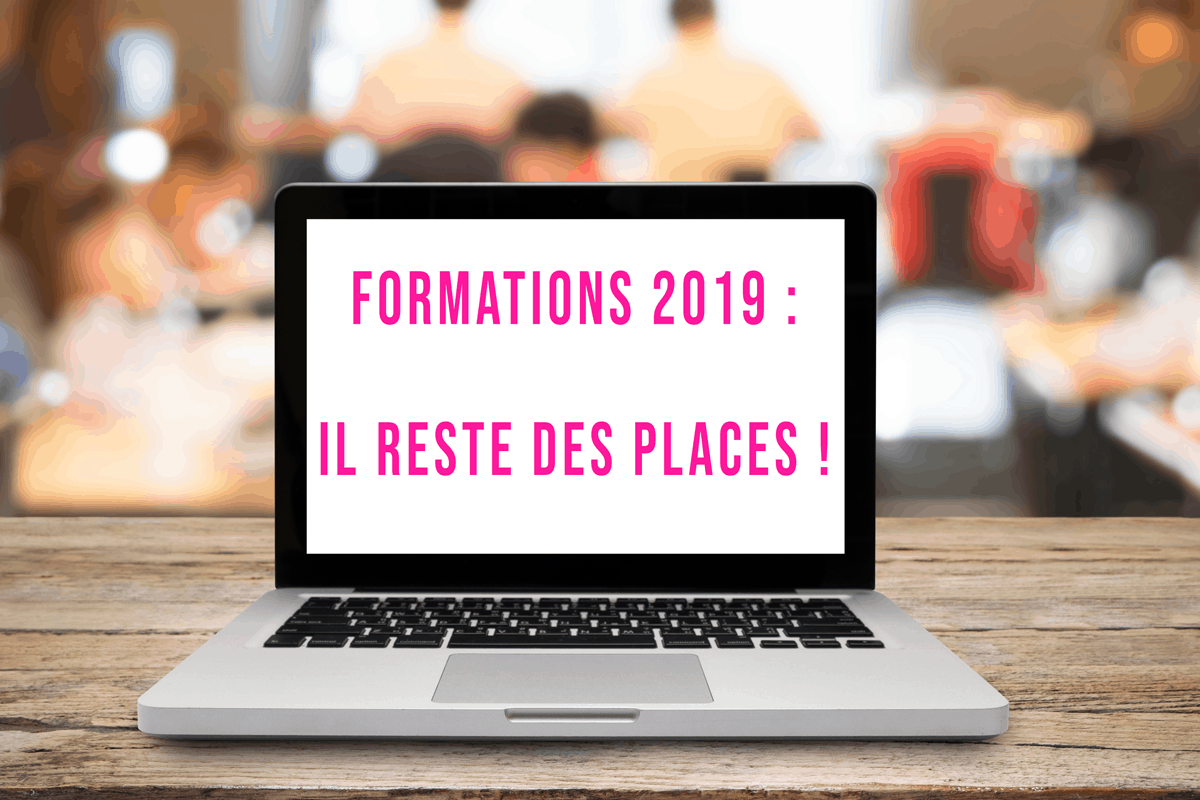 Formations 2019 : Il reste des places