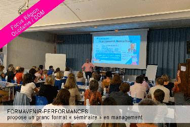 Formavenir-Performances propose un grand format « séminaire » en management