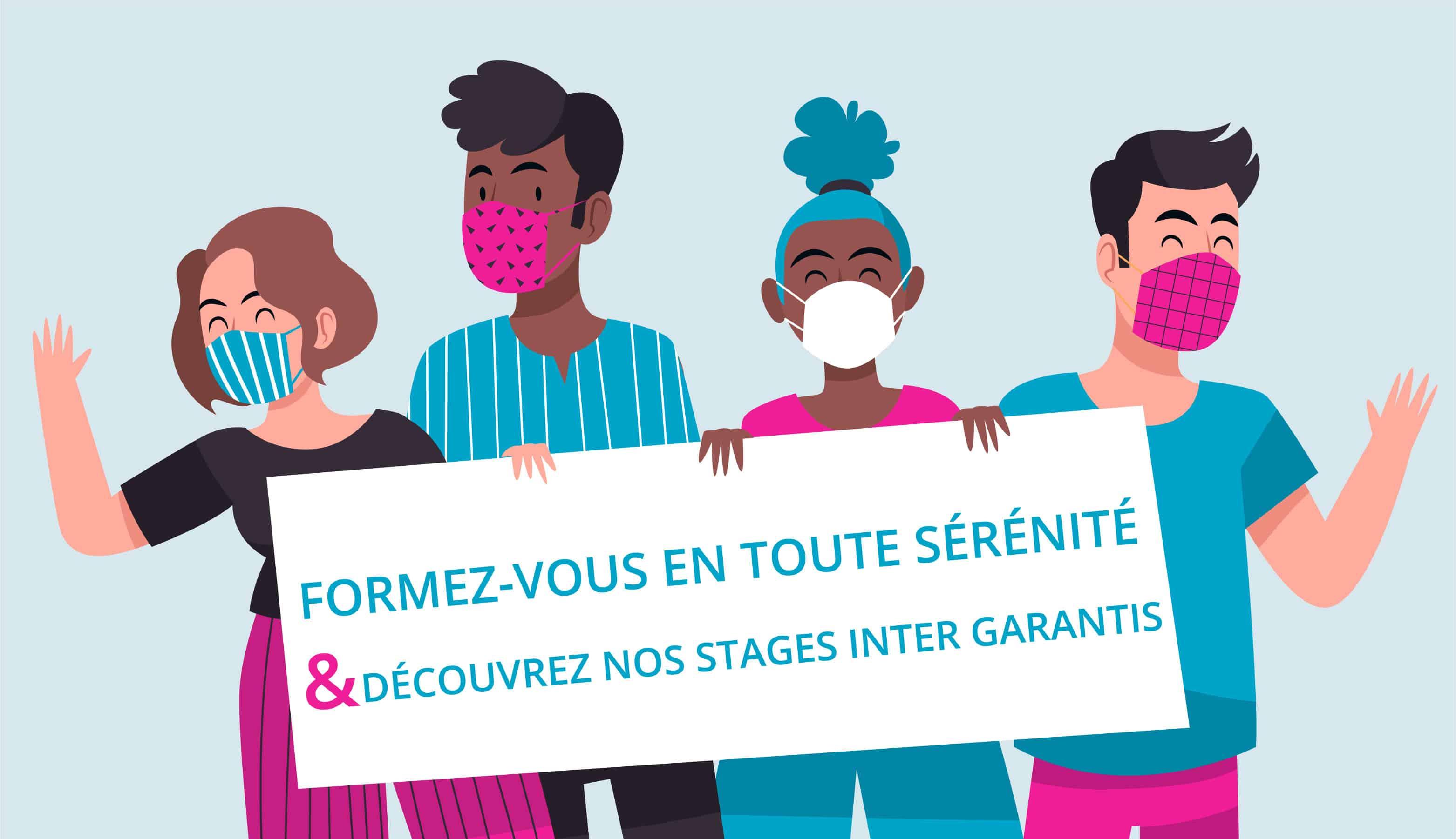 Stages garantis : Octobre – Décembre 2020